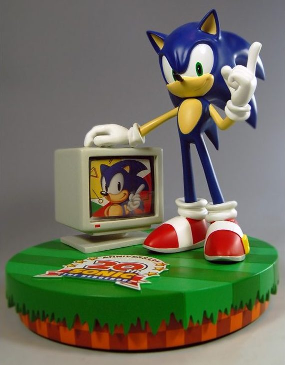 Sonic the Hedgehog 20th Anniversary Statue
