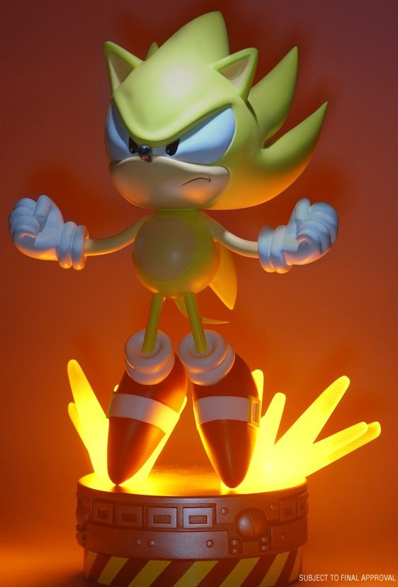 First 4 Figures Classic Super Sonic Exclusive Statue