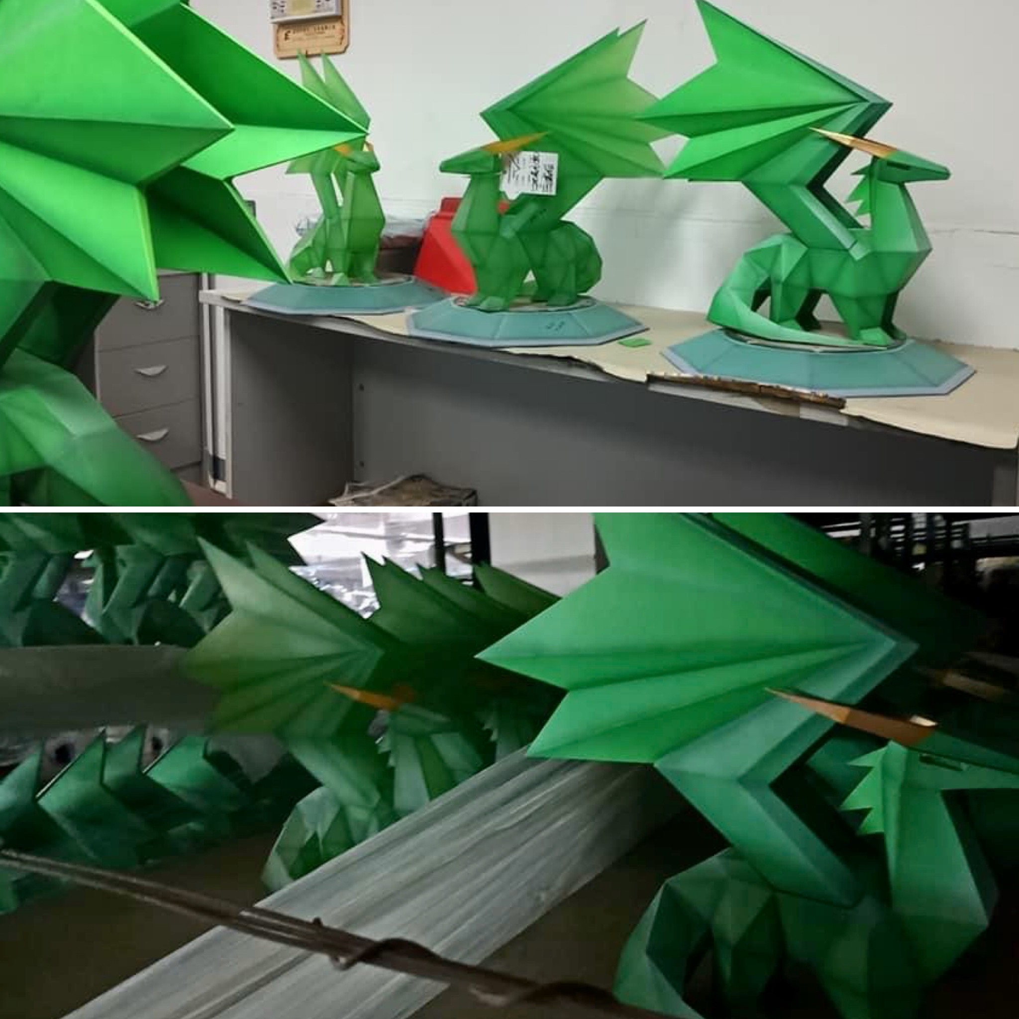 First 4 Figures Crystal Dragon Production Photos