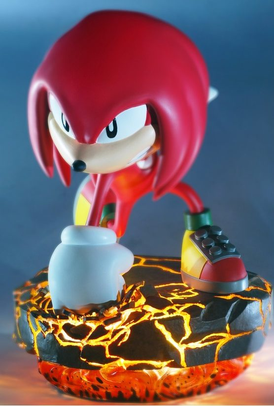 First 4 Figures Knuckles Exclusive Classic Statue