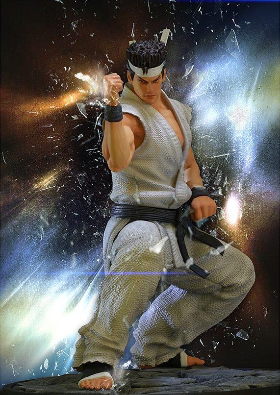 Virtua Fighter 5 - Akira Yuki Statue SEGA All-Stars