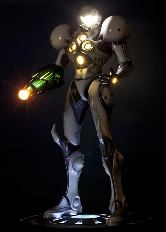 F4F Light Suit Samus Exclusive Edition Statue