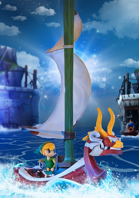 The Legend of Zelda™: The Wind Waker – Link on the King of Red Lions