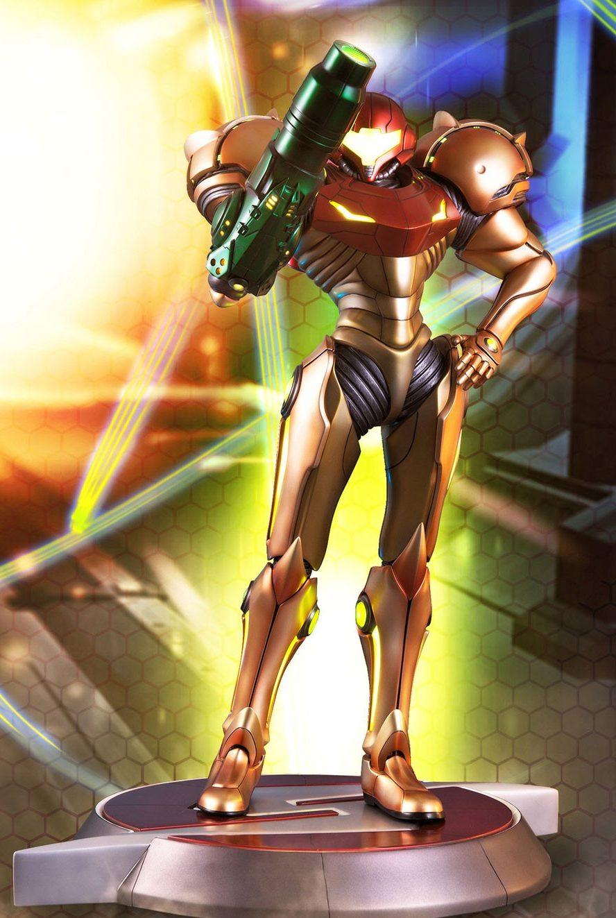 Metroid Prime 2 Echoes Samus Varia Suit Exclusive Edition Statue