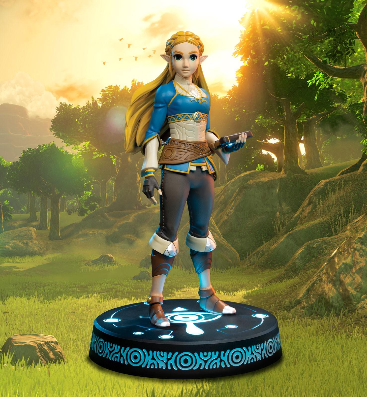 The Legend of Zelda Breath of the Wild Zelda Exclusive Edition PVC Statue
