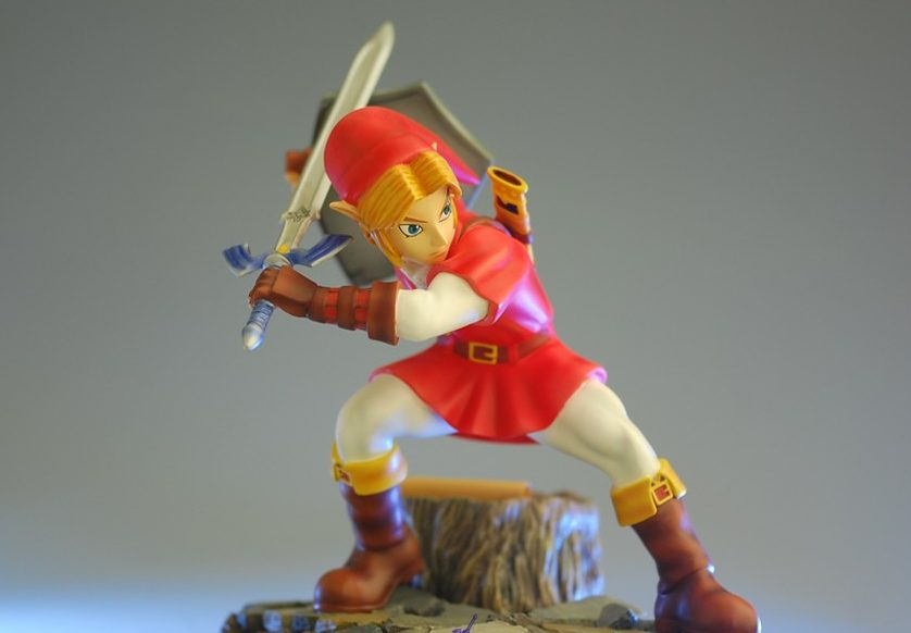 The Legend of Zelda™: Ocarina of Time – Goron Tunic Link