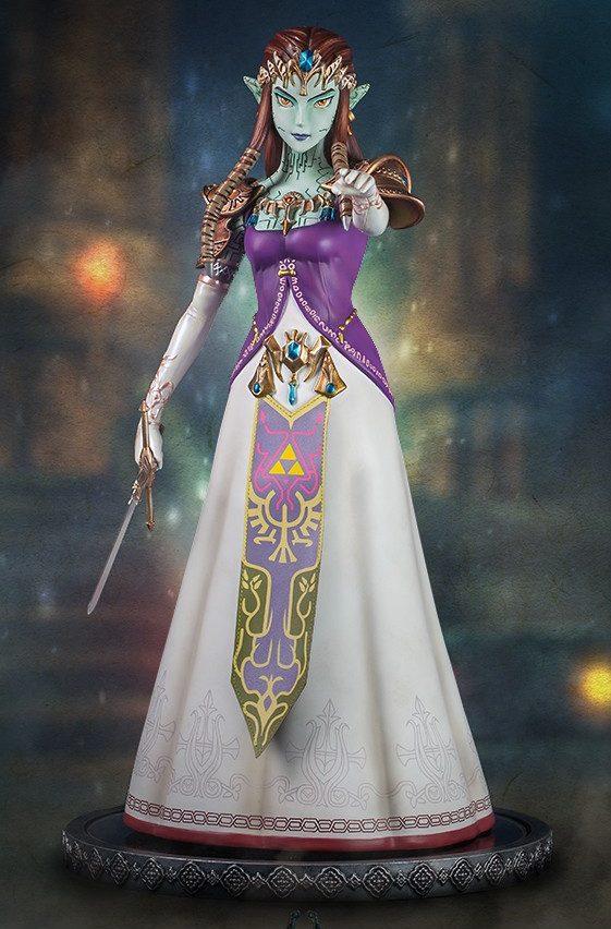 The Legend of Zelda Twilight Princess Ganon Pupper Zelda Statue