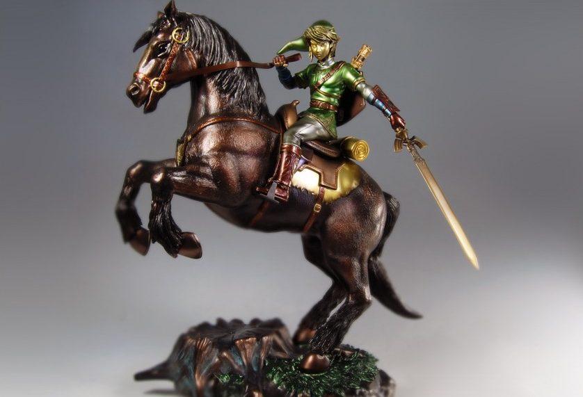The Legend of Zelda Twilight Princess Link on Epona Exclusive Edition Statue