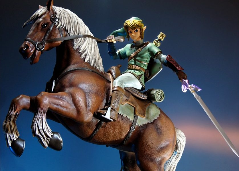 The Legend of Zelda™: Twilight Princess – Link on Epona