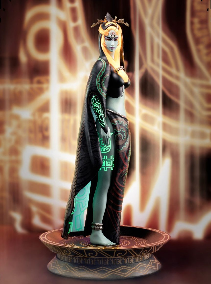 The Legend of Zelda Twilight Princess True Form Midna Exclusive Edition Statue