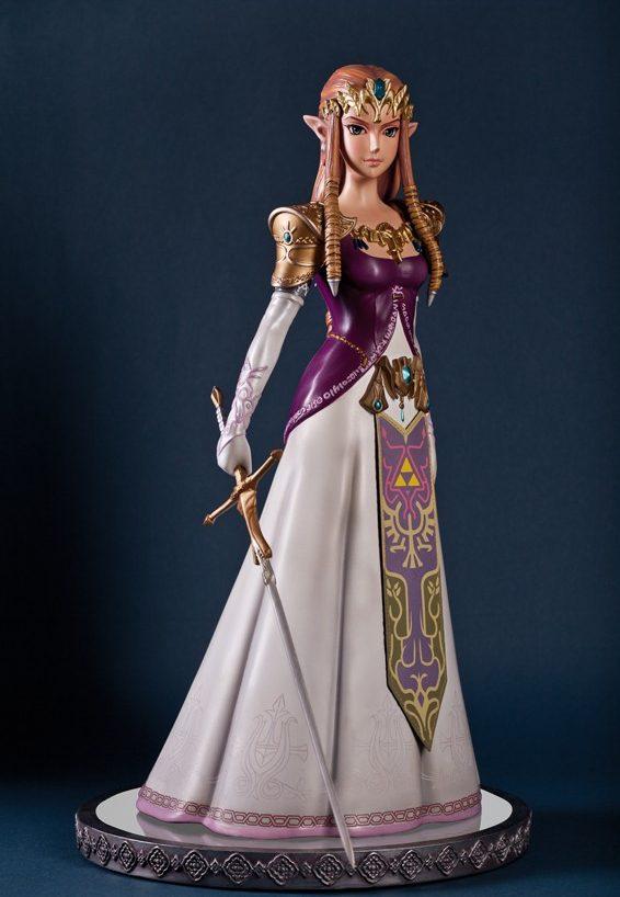 The Legend of Zelda Twilight Princess Zelda Statue