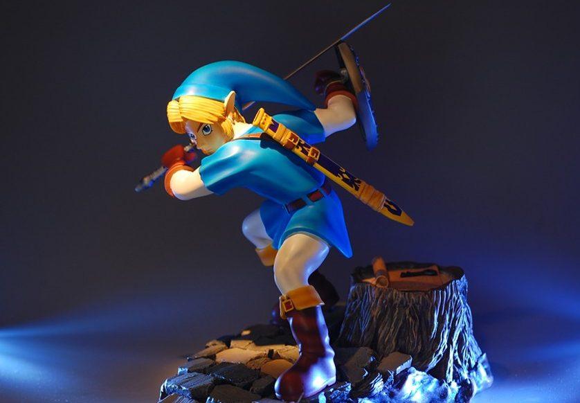 The Legend of Zelda Zora Tunic Link Statue