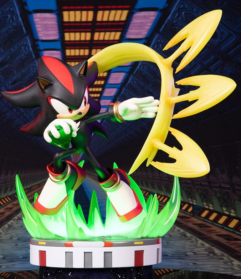 F4F Shadow the Hedgehog Chaos Control Statue